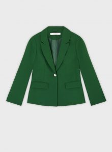 PETITE Green Nipped In Blazer